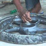 അമ്മ ടയര് വര്ക്ക്: മലയാലപ്പുഴ (മൊബൈല് വര്ക്ക്)